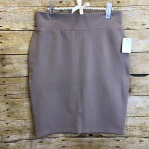 Charlotte Russe Taupe Bodycon Mini Skirt Size XL